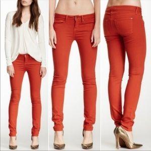 Vince Rust Skinny Jeans